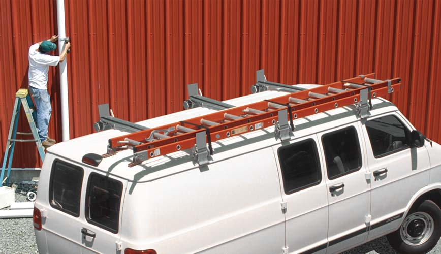 Van Ladder Racks - Utility Rig