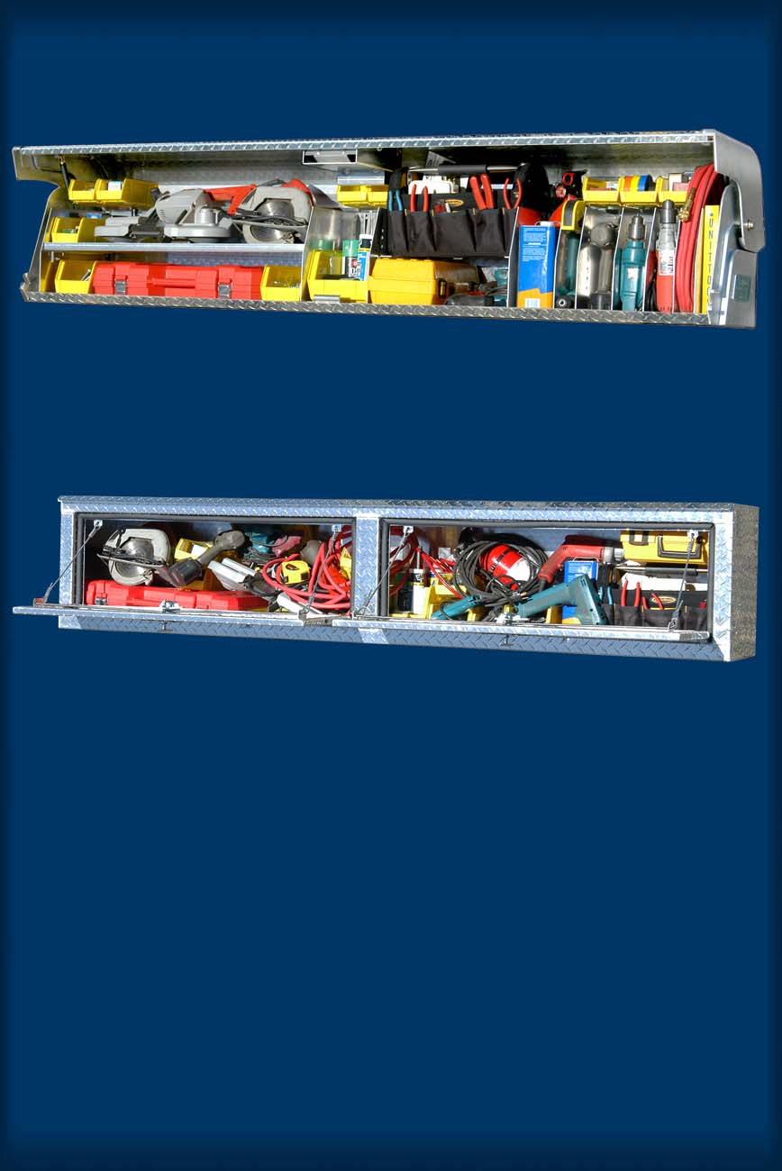 Small Truck Tool Box >> About Full Access Truck Tool Boxes - System One aluminum ...